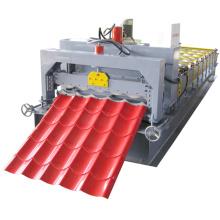 Vollautomatische Profiliermaschine aus verzinktem Stahl