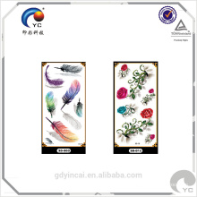 Realistic 3d water transfer printing Temporary Tattoo Sticker (custom design)