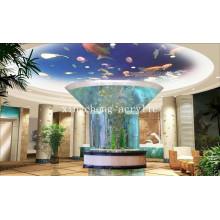 Customized Irregular Acrylic Fish Tank for Ornamental