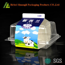 Clear transparent plastic cake box