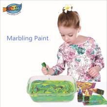 Usine directe de vente chaude facile à nettoyer et adapté aux enfants Ebru marbling peinture