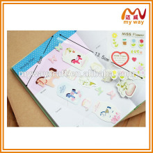 Beautiful photo album decorative stickers, the design of pvc sticker