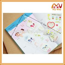 Bonitos álbuns decorativos para o álbum de fotos, o design do adesivo pvc