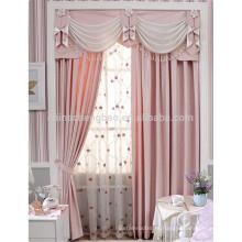 Bordado flor cortina diseños cortinas de seda india