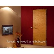Puertas de madera diseño moderno de la puerta de la habitación de confort