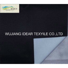 Tecido de poliéster flocada tecidos para estofos