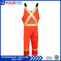 Orange Safety Protective Hi Vis Fr Bib Pantalons d'ensemble (YBD119)