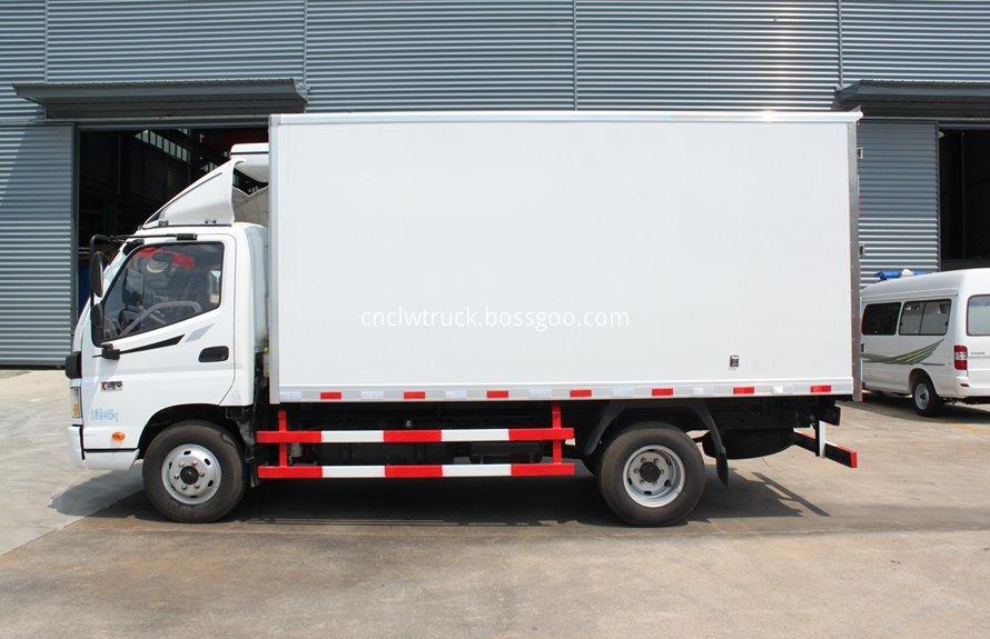 milk cooling transport truck 1