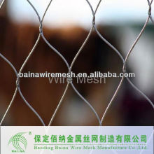 Flexible metal mesh netting
