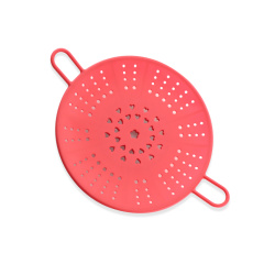 Silicone Steamer Basket With Handle For Cooking