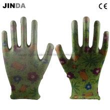 Полиуретановые полиуретановые защитные рабочие рабочие защитные рабочие рабочие перчатки (PU001)