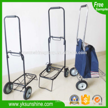 2015 metal moveable folding packing trolley,portable pull trolley cart/luggage cart