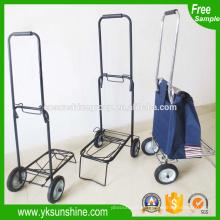 2015 moveable metal embalagem carrinho, carrinho de bagagem/carrinho carrinho portable puxar de dobramento