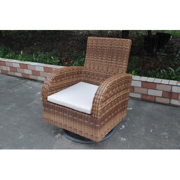 Outdoor Wicker Bistro Swivel Chair Rattan Furniture