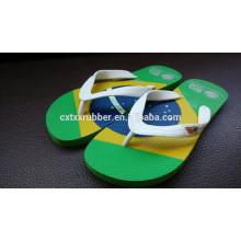 Sandálias de praia de borracha flip flops