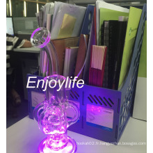 Enjoylife Fab Egg Smoking Glass Water Pipe avec LED Light