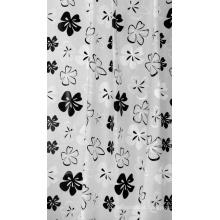 Cortina de chuveiro de alta qualidade impresso, cortina de chuveiro de poliéster, cortina de chuveiro impermeável