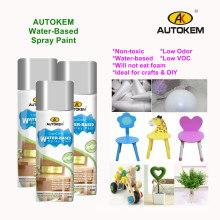 Autokem Water-Based Spray Paint Low Odor Environmentally Friendly