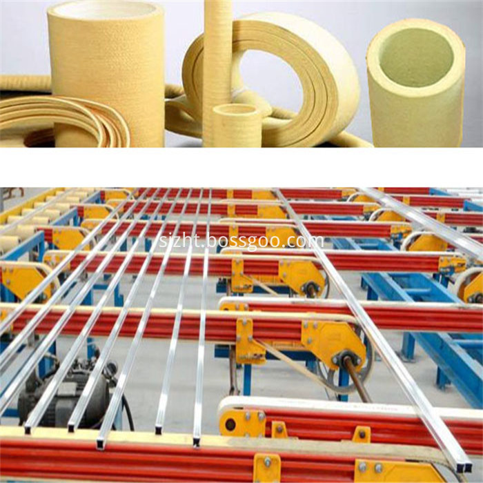 PBO Endless Conveyor Belt For Aluminum Extrusion Industry