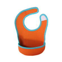 Pretty Cheap Neoprene Velcro Baby Bibs Wholesale