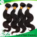 Extensão brasileira 100% não processada do cabelo do Virgin do cabelo humano / Remy