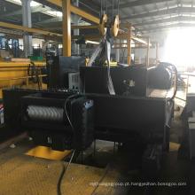 Grades de cabo de aço duplo Gancho Idler Trolley