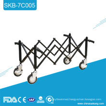SKB-7C005 Foldable Aluminum Coffin Church Casket Trolley