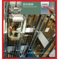 Glass with Stainless Steel Frame Sightseeing Observation Elevator Lift