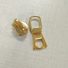 Shiny Gold Brass No.3 Slider voor handtas