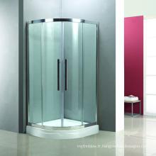 cabine de douche à double porte coulissante