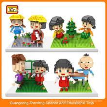 Nouveaux jouets pour enfants 2016 jouets éducatifs, blocs d'éléments plastiques