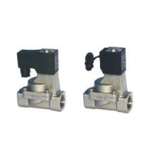 Indirect acting and normally closed type 2/2 way solenoid valve 2KL series fluid control valves