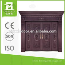New products high gloss exterior villa copper door from China manufacturer