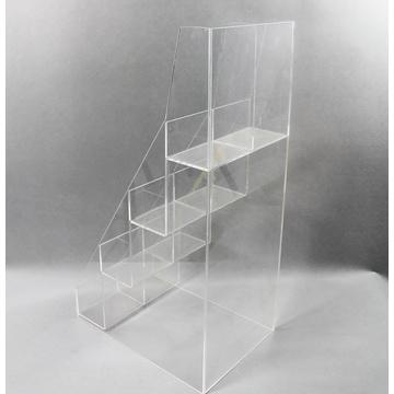 Custom Acrylic Stair Step Display Holder Stand
