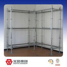 Q235/Q345 HDG British ringlock scaffold system/all round scaffold manufacturer