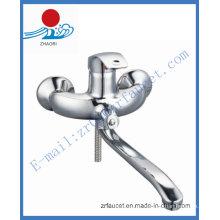 Misturador de torneira de cozinha com montagem sanitária de parede (ZR20503-A)