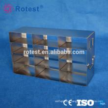 stainless steel cryogenic storage rack used in laboratory freezer/medical freezer
