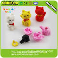 Japanse Rode Gele Goodluck Dollar Cat Eraser