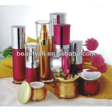 15g 30g 50g New Round Acrylic plastic cosmetic face cream jars