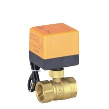 brass electric ball valve
