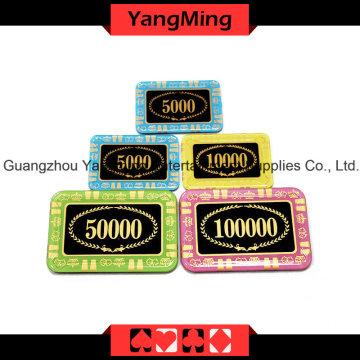 포커 크리스탈 포커 칩 (YM-CP001-002)