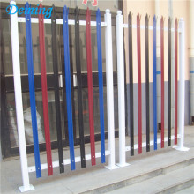 PVC Coated High Security Steel Palisade Fencing