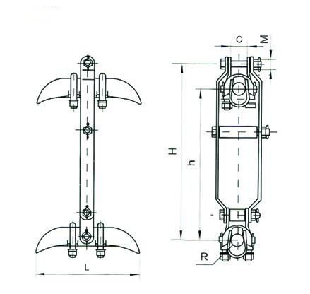 XCS Suspension Clamp Design