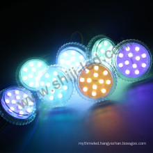 High Quality Rgb DC12/24V 50mm 12pcs Leds digital addressable pixel light For Amusement Park