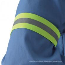 Banda de brazo de policía de seguridad reflectante