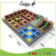 Interior personaliza trampolim comercial profissional para venda