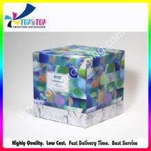 Caixa de embalagem de papelão rígido de impressão colorida para creme de cuidado de cabelo
