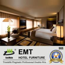 Мебель высокого качества гостиничной мебели для кроватей (EMT-HTB04-4)