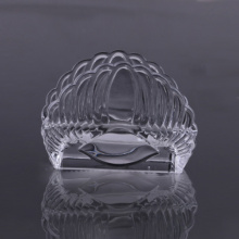 Met de hand gemaakte Wing Shape Crystal Glass servethouder