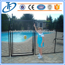 powder coated steel child safety swimming pool fence